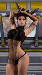 Annie - Gunner Girl II by STR4HL