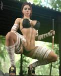 Evie - Sexy Samurai