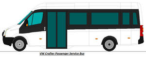 Volkswagen Crafter - Service Bus