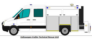 Volkswagen Crafter - Technical Rescue Unit