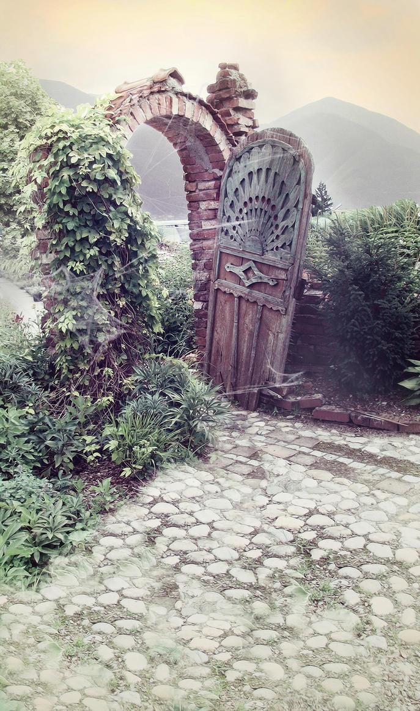 Garden by celairen-stock