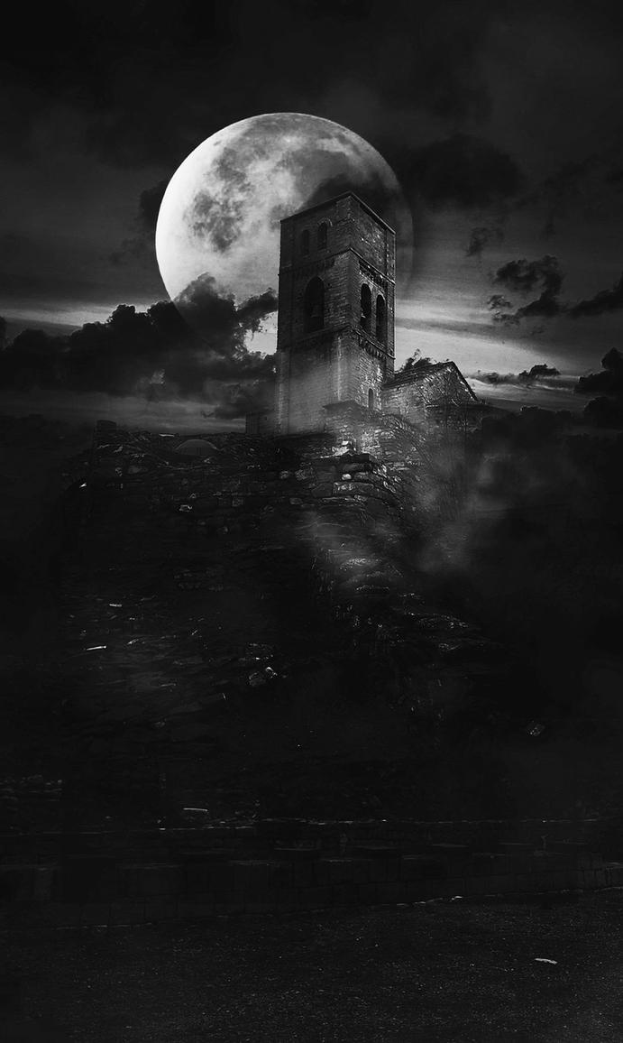 Dark Castles by celairen-stock