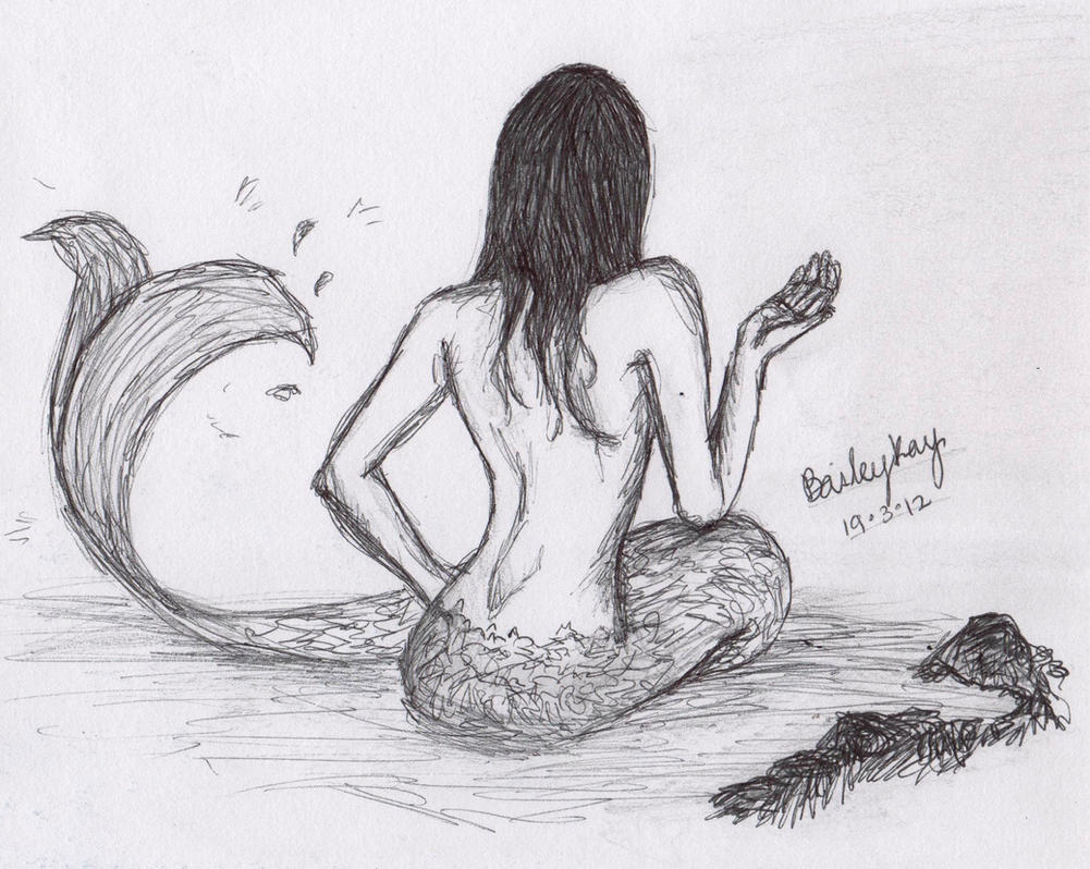 Drawings Of Mermaids In Pencil | www.imgkid.com - The ...