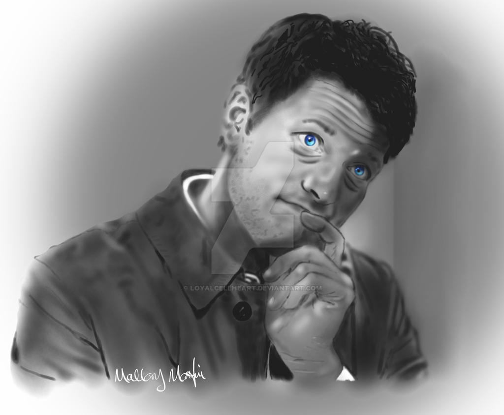 Misha phone doodle by LoyalCellHeart