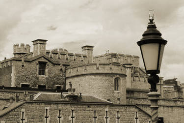 Tower of London Rooftops by dpw-shane