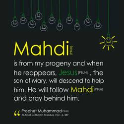 Mahdi and Jesus by zhrza