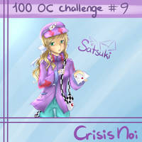[100 OC CHALLENGE #9] Satsuki [CrisisNoi] by MimiChair
