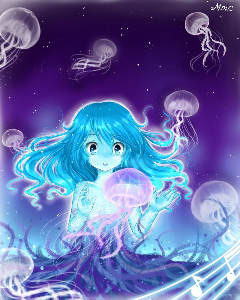 Gathering of the Jellyfishes - HBD Tessa~ by MiMikuChair