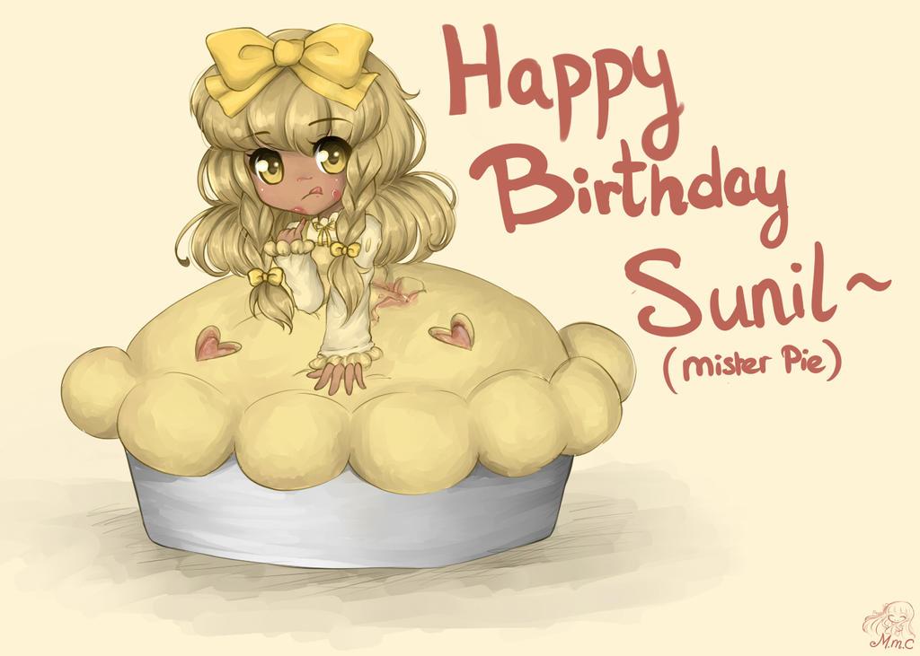 A happy pie birthday by MiMikuChair