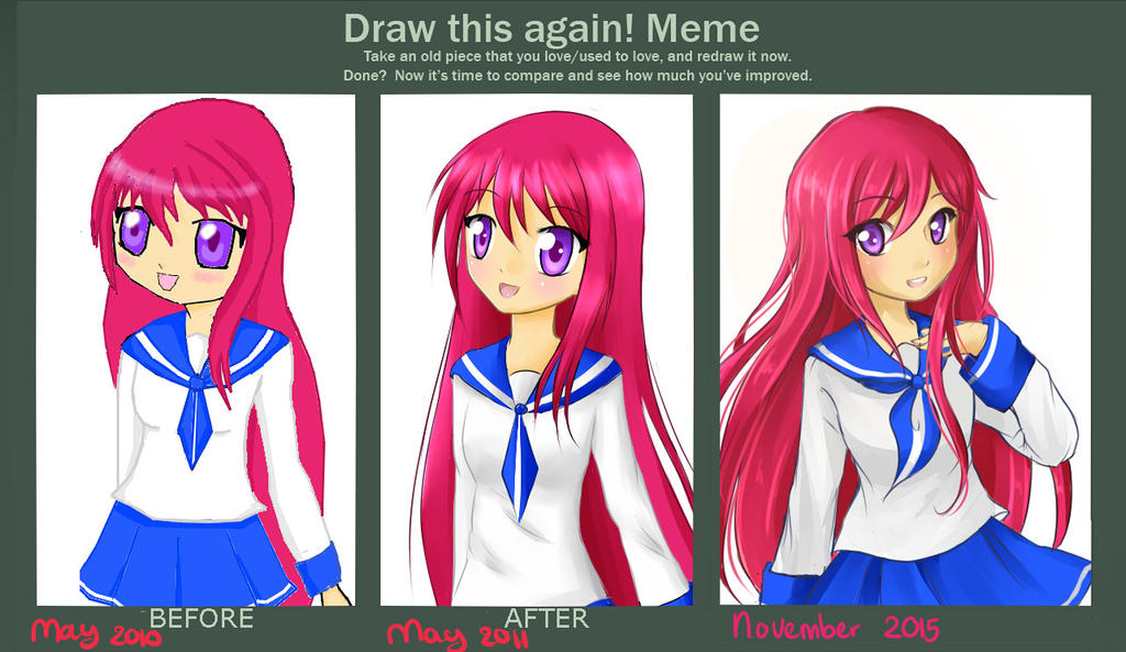 Before and after meme thing by MiMikuChair
