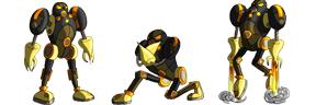 Robot Villain sprites by fire-camel