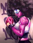 Garnet - Steven Universe Fan Art by murillomagalhaes92