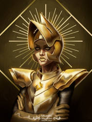 Yellow Diamond Fan Art by murillomagalhaes92