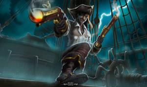 Captain Wando - Splash Art Commission