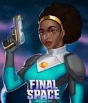 Quinn - Final Space Fan Art