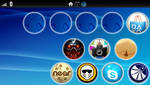 PSP Vita icon wall by GrimLink