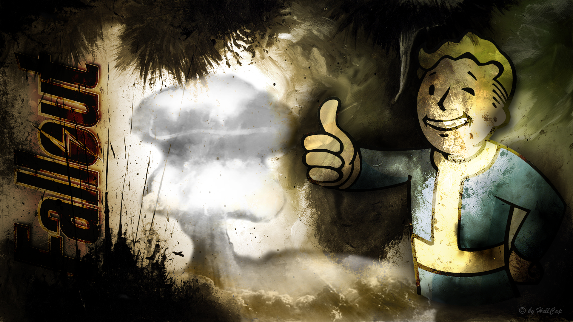 Fallout Vault Boy Wallpaper By Netbase On Deviantart