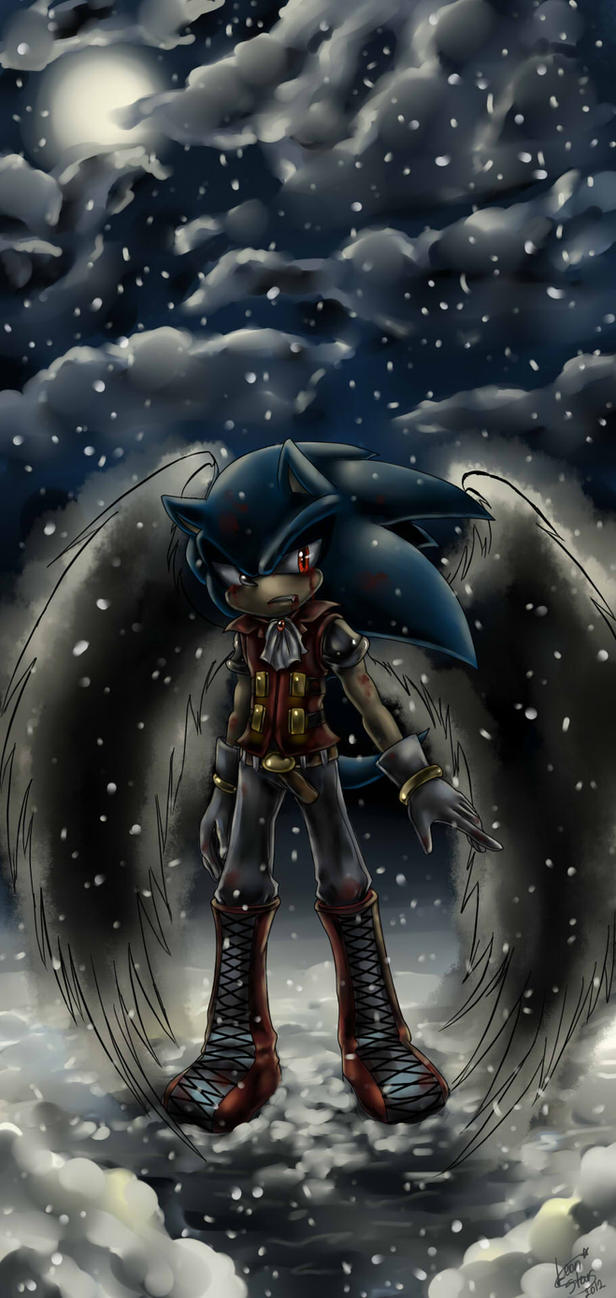 Sonic the vampire by LeonS-7