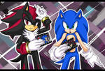 +SONIC AND SHADOW+