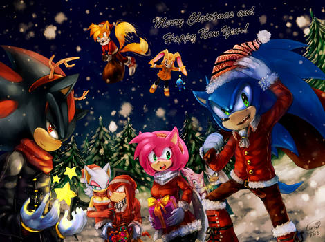 [MERRY CHRISTMAS] Sonic