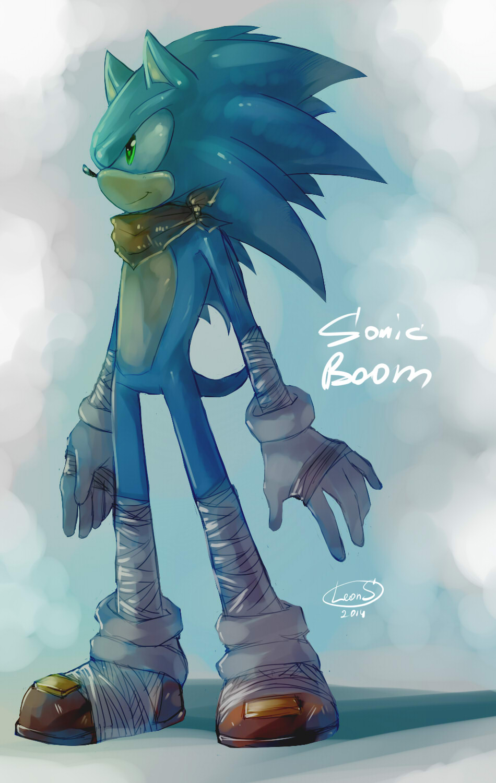 Sonic Boom by LeonS-7