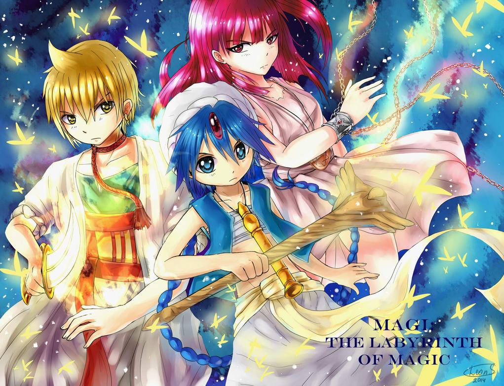 Magi: The Labyrinth of Magic by LeonStar123