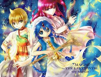 Magi: The Labyrinth of Magic by LeonS-7