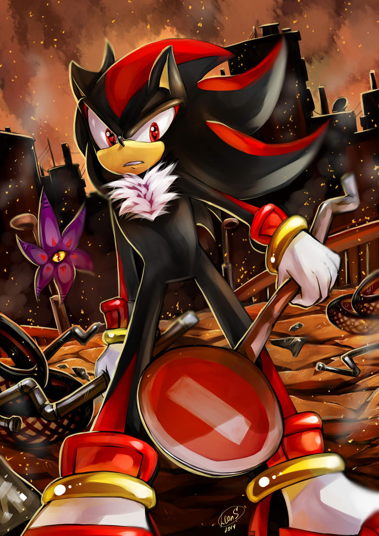 Shadow the hedgehog by LeonS-7