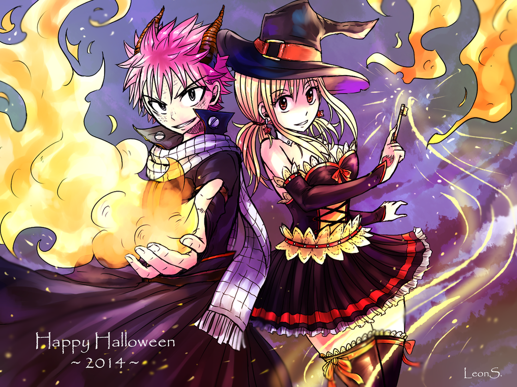 Amazing Wallpaper Halloween Fairy - halloween_2014__nalu__by_leonstar123-d84sm9m  Pic_6957.png