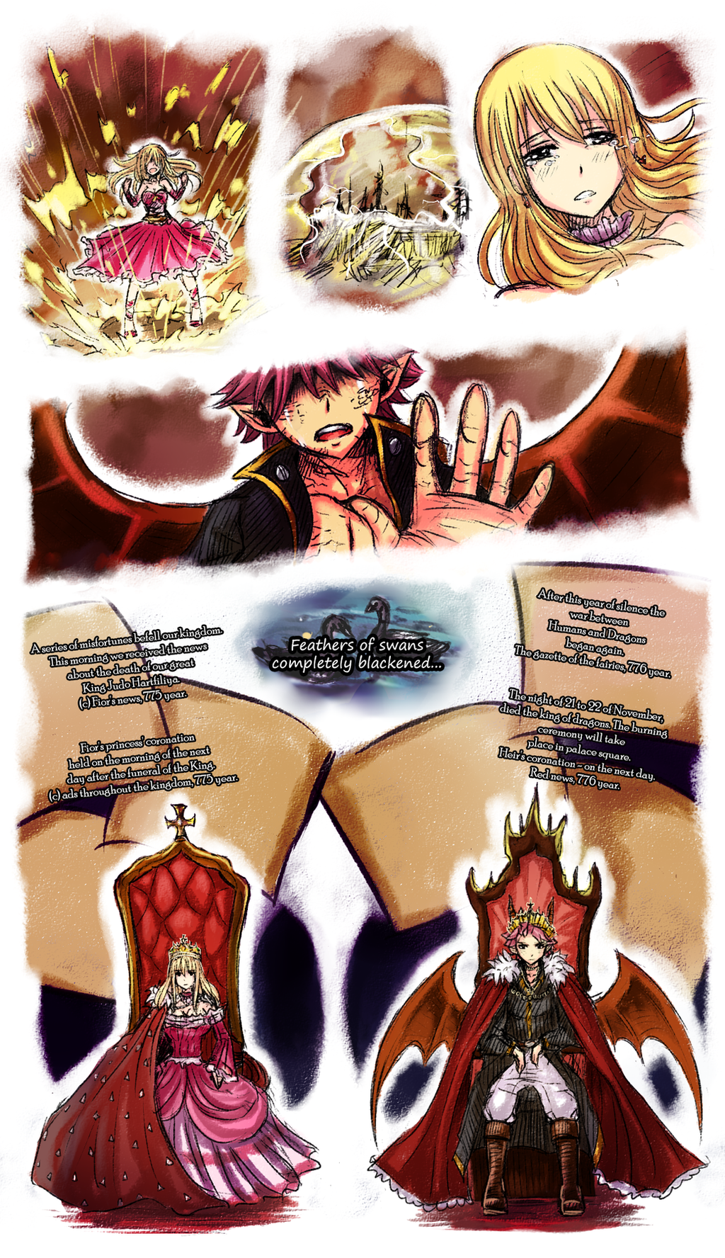 Fairy Tail Fanfiction End Revealed: Fireflies [10] By LeonS-7 On DeviantArt