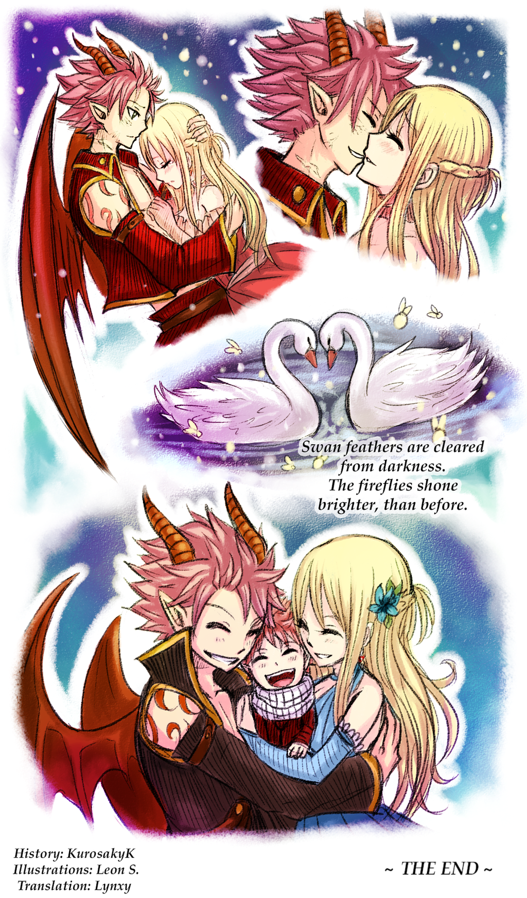 Fairy Tail Fanfiction End Revealed: Fireflies [14] By LeonS-7 On DeviantArt