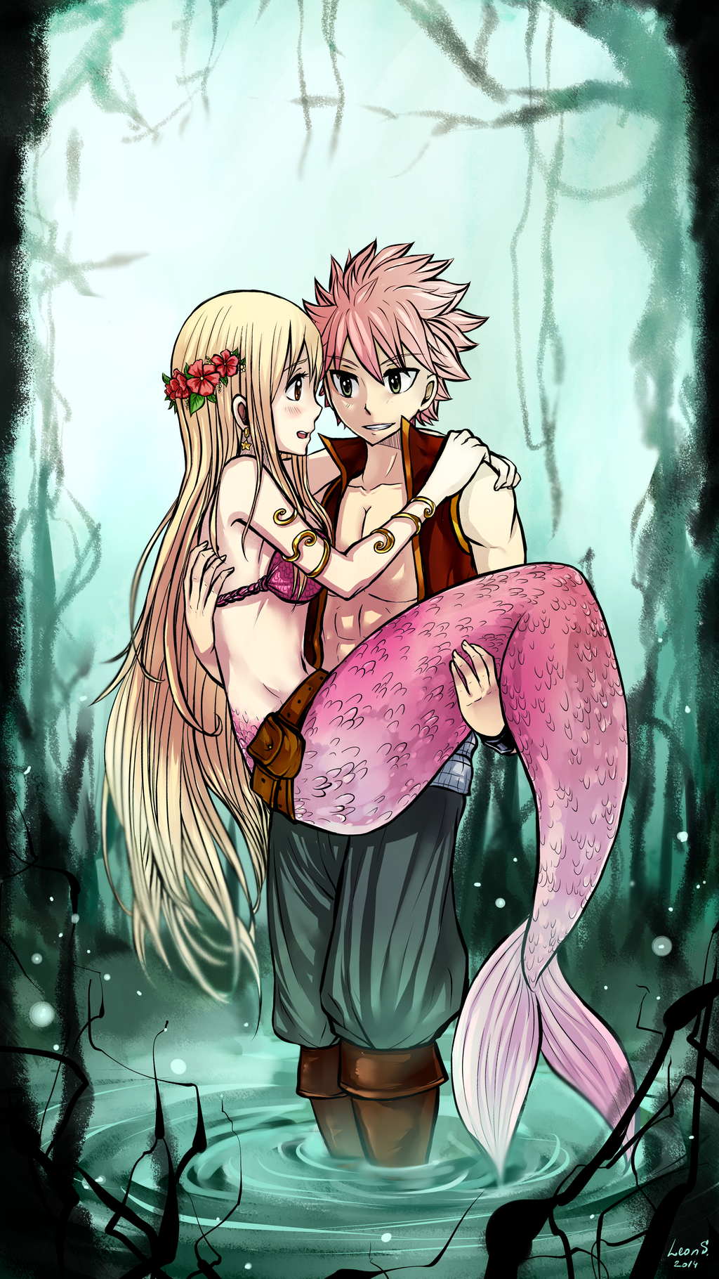Mermaid nalu by leons 7 on deviantart
