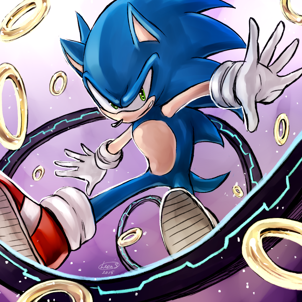 ~ Sonic ~ by LeonS-7