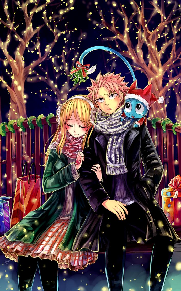 ~ Merry Christmas [NaLu] ~ by LeonS-7