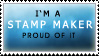 I'm a stamp maker stamp by EminaAcqua