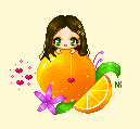 Me and my fav fruit by CelticCry