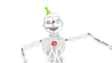 Ennard Sketch by KittyMee05