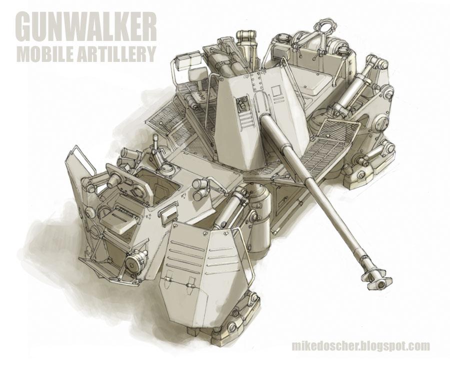 Gunwalker, 2nd Iteration by MikeDoscher