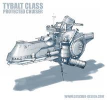 'Tybalt' Class Cruiser by MikeDoscher