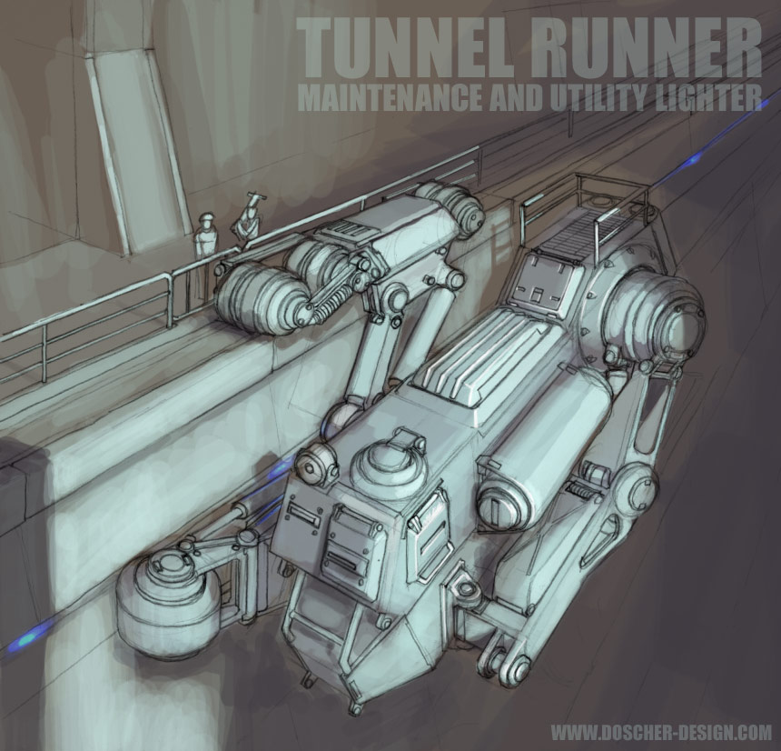 Tunnel Runner by MikeDoscher
