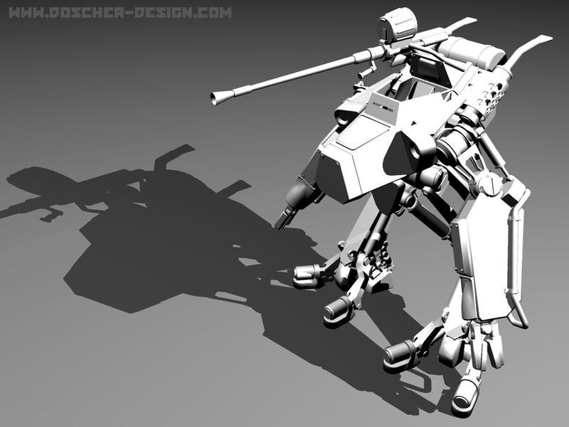 Mech Desktop by MikeDoscher