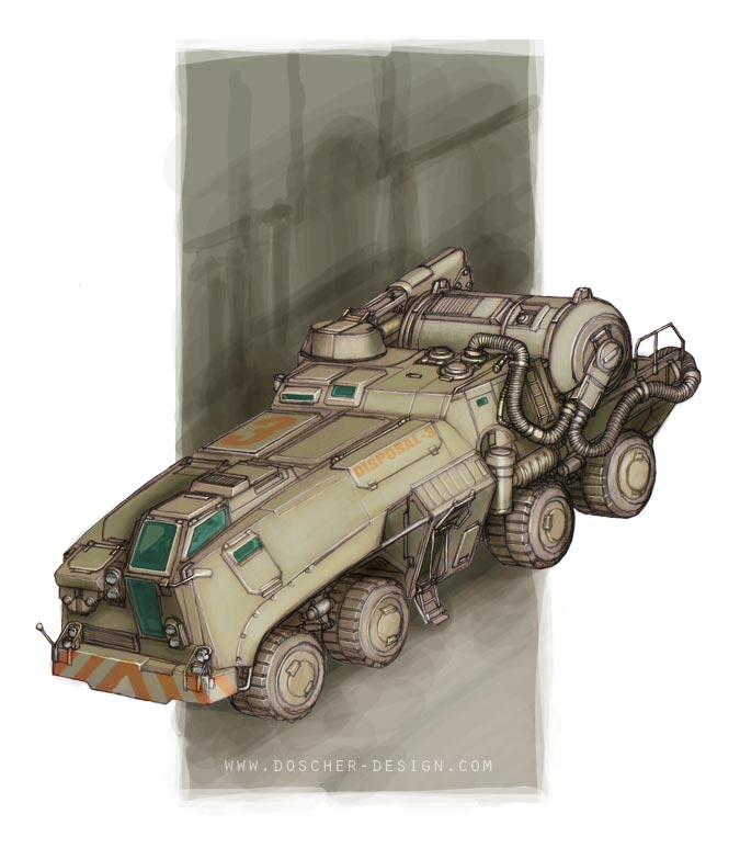 Heavy Pump Truck by MikeDoscher