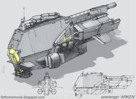 Scavenger Arken Final Design by MikeDoscher