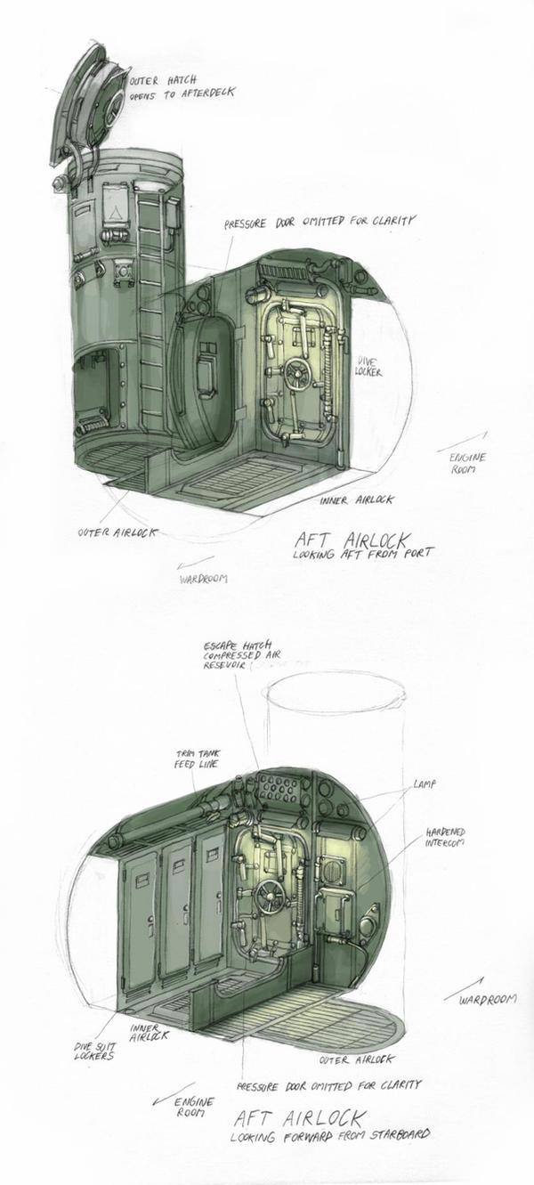 'Arken' Aft Airlock by MikeDoscher