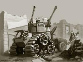 Flak Tractor