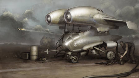 Interceptor '48 by MikeDoscher