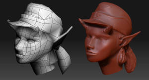 Zbrush Experiment by MikeDoscher