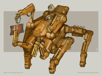 Heavy Construction Suit by MikeDoscher
