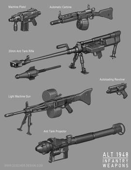 Alt 1948 Infantry Weapons