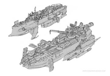 Small Vessel Studies by MikeDoscher